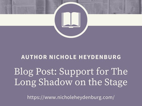 Support for The Long Shadow on the Stage