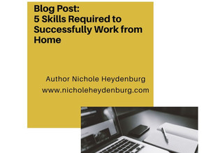 5 Skills Required to Successfully Work from Home