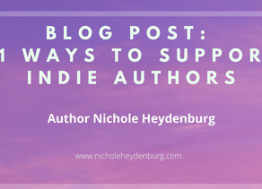 11 Ways to Support Indie Authors