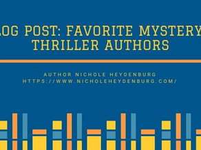 Favorite Mystery & Thriller Authors