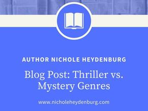 Thriller vs. Mystery Genres