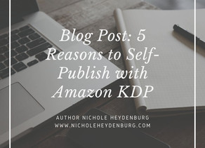 5 Reasons to Self-Publish with Amazon KDP