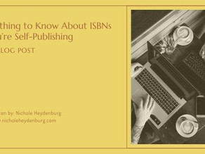 Everything to Know About ISBNs if You're Self-Publishing