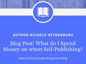 What do I Spend Money on when Self-Publishing?