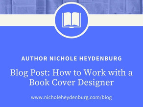 How to Work with a Book Cover Designer