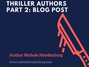 Favorite Mystery & Thriller Authors Part 2