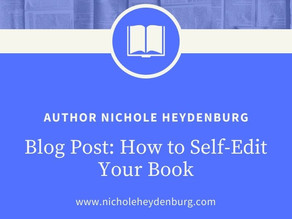 How to Self-Edit Your Book