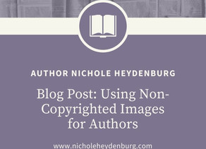 Using Non-Copyrighted Images for Authors