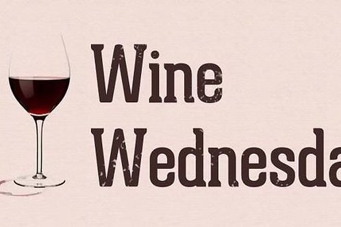 Wednesday Winesday - July 10 @ 6:30 PM