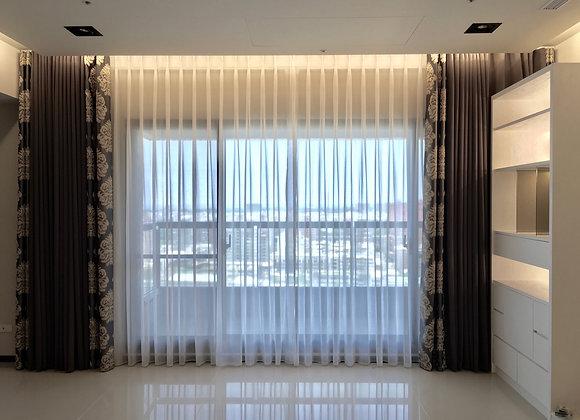 比利時樹繁葉窗簾(布加紗)