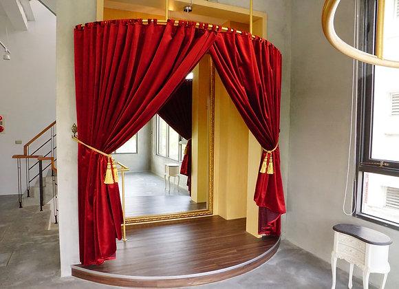 歐洲絨布奢華窗簾