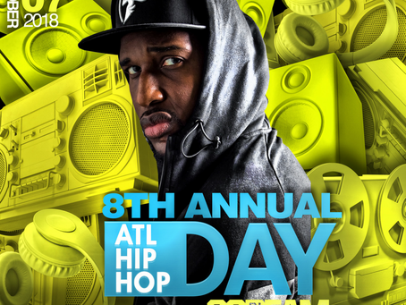 DJ SCREAM SET TO HOST 8TH ANNUAL ATL HIP-HOP DAYA FREE FAMILY FUN FILLED FESTIVAL