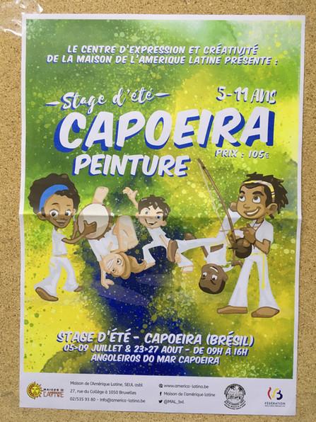 Stage été CAPOEIRA/PEINTURE!!!!!!