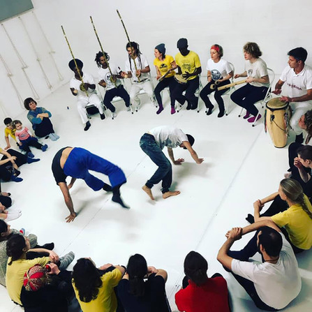 Roda et Stage avec Treinels Diogo & Angolinha