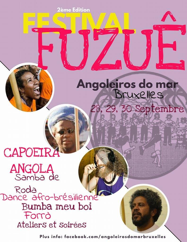 Festival; Capoeira Bruxelles; Capoeira Angola;