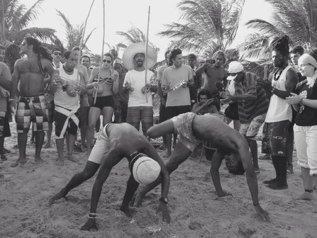 Capoeira Angola com a família do Mar
