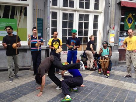 Stage de Capoeira a Bruxelles