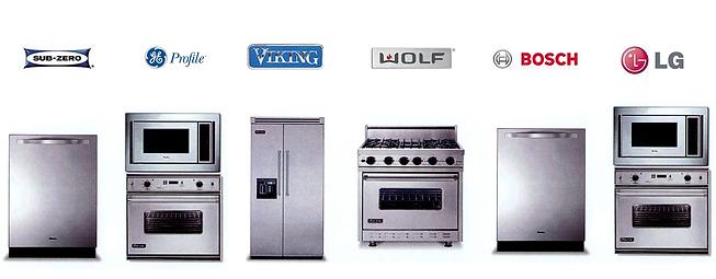 Appliance Repair - Sub-Zero, Viking, Thermador