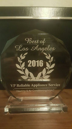 Google Reviews for VP Reliable Appliance Repair Service