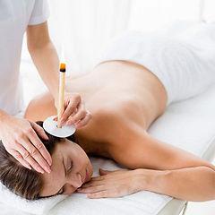 50Pairs-100Pcs-Circular-Aromatherapy-Ear