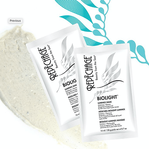 Luminex Treatment Mask (professional recommendation only).