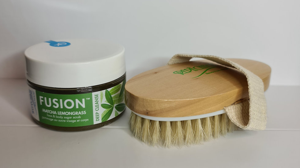 Face and Body exfoliation. Gif with purchase.