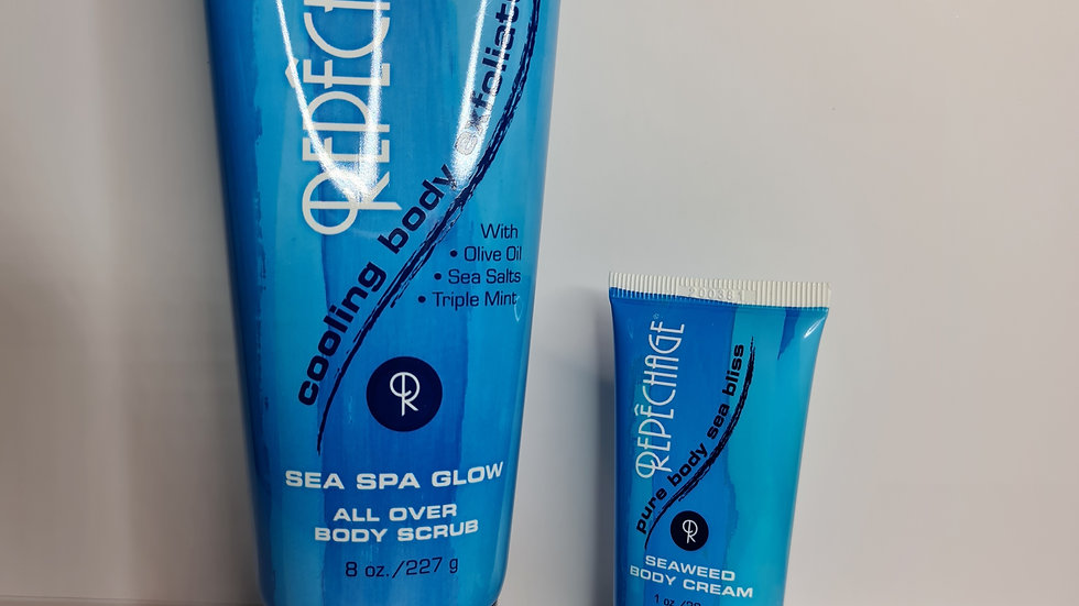 Sea Spa Glow with gift.