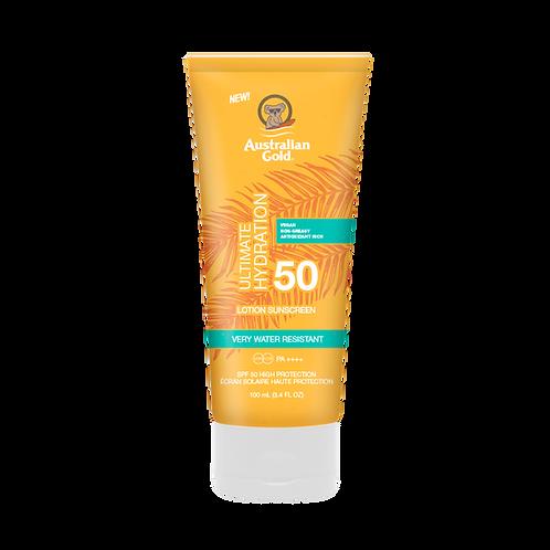 Australian Gold Ultimate Hydration Sunscreen SPF 50 100ML