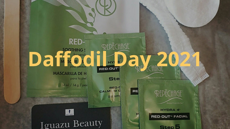 Daffodil Day 2021 Facial Kit