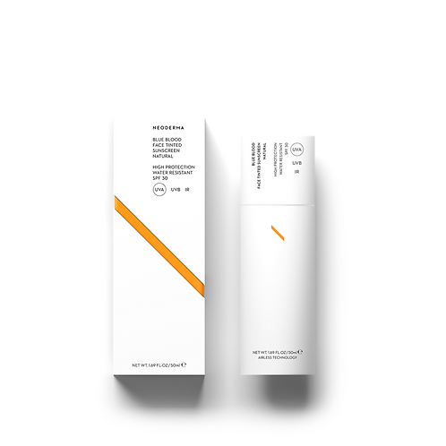Neoderma tinted face cream with spf 30 Natural