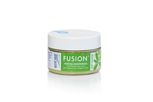 FUSION Matcha Lemongrass Face & Body Sugar Scrub