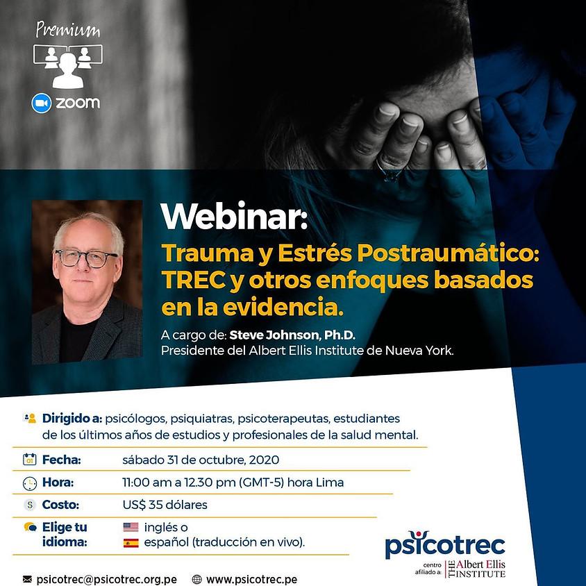 Webinar - Trauma y Estrés Postraumático: TREC y otros enfoques basados en la evidencia.
