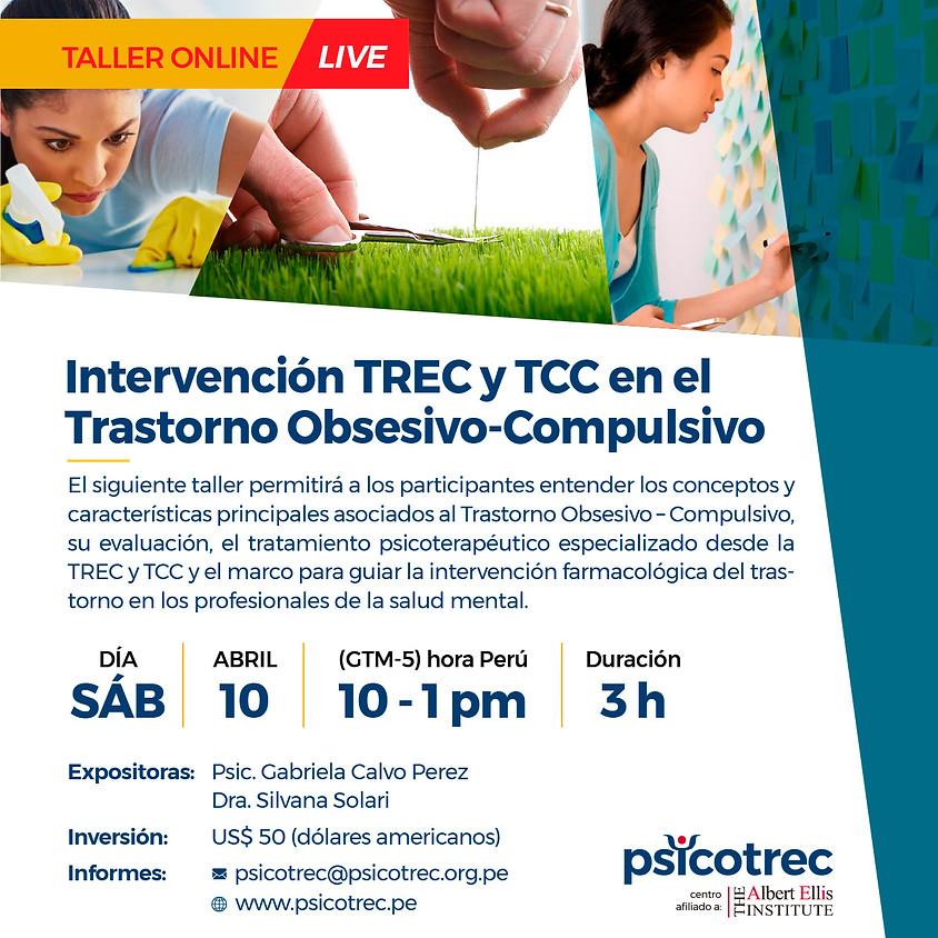 Intervención TREC y TCC en el Trastorno Obsesivo-Compulsivo