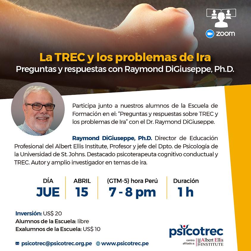 Q&A | La TREC y los problemas de Ira | Raymond DiGiuseppe, Ph.D.