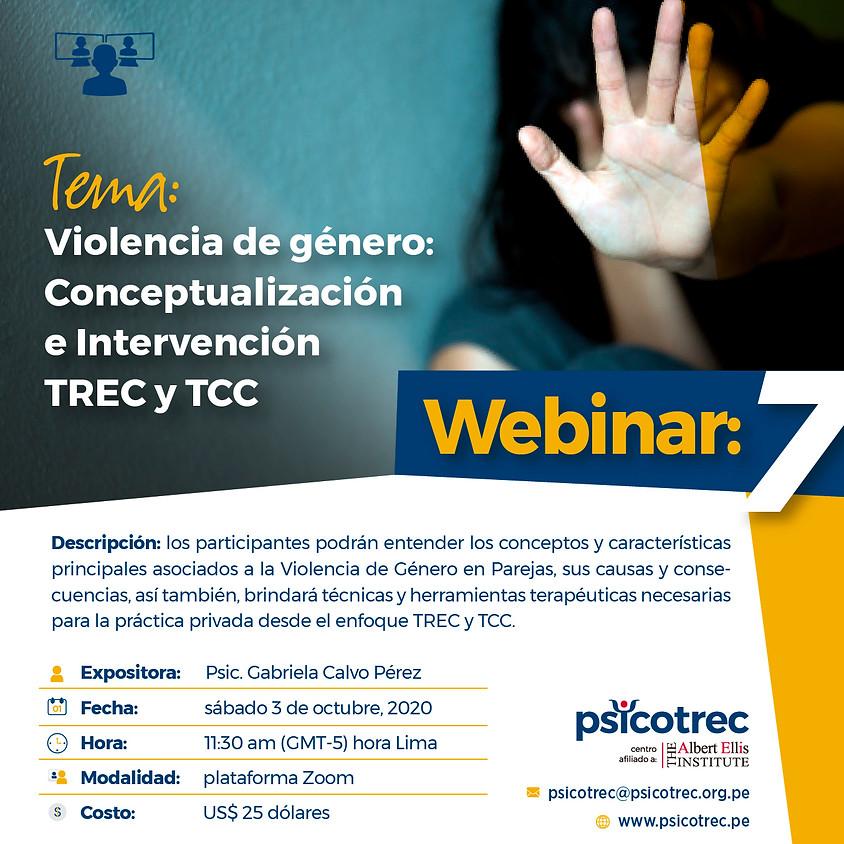 Violencia de género: Conceptualización e Intervención TREC y TCC