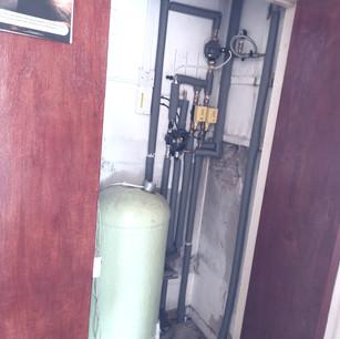 newly installed hotpress