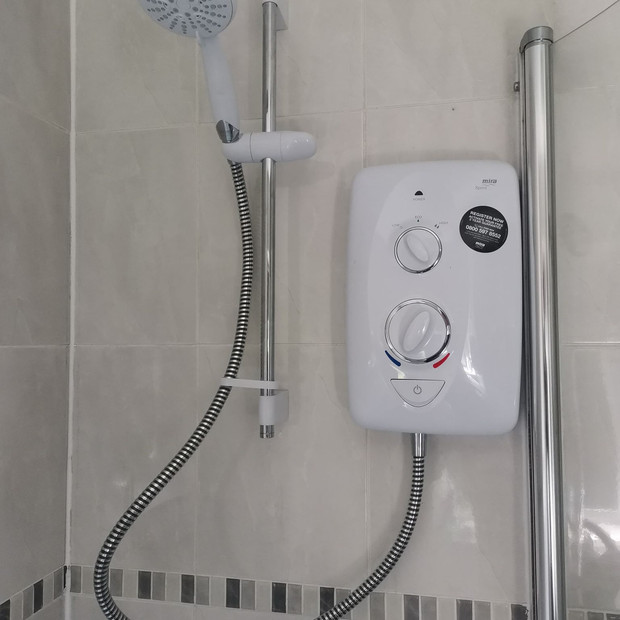 new electric shower