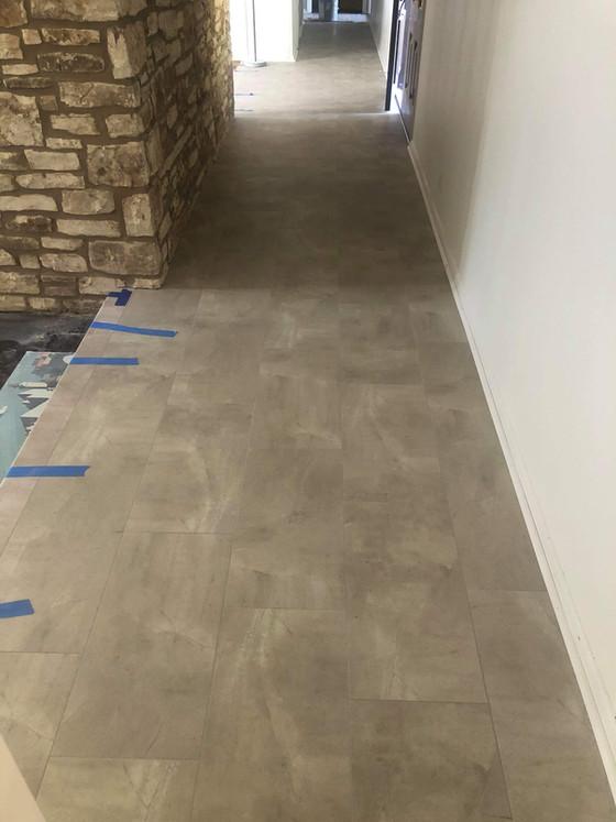Tile-look vinyl; what is it, why get it?