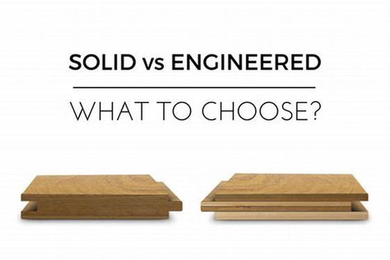 Hardwood Floor vs Engineered Floor