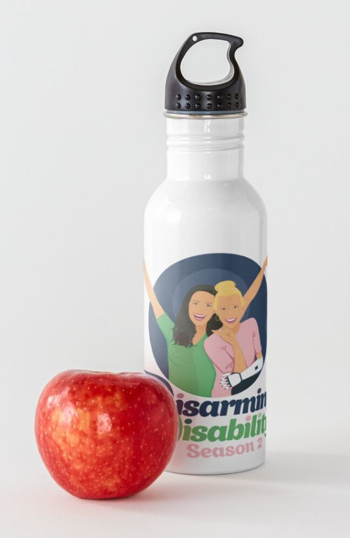 Disarming Disability Waterbottle