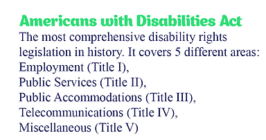 Disability Policy History ADA30 Americans with disabilities graph interactive sarah tuberty nicole kelly disarming disability podcats