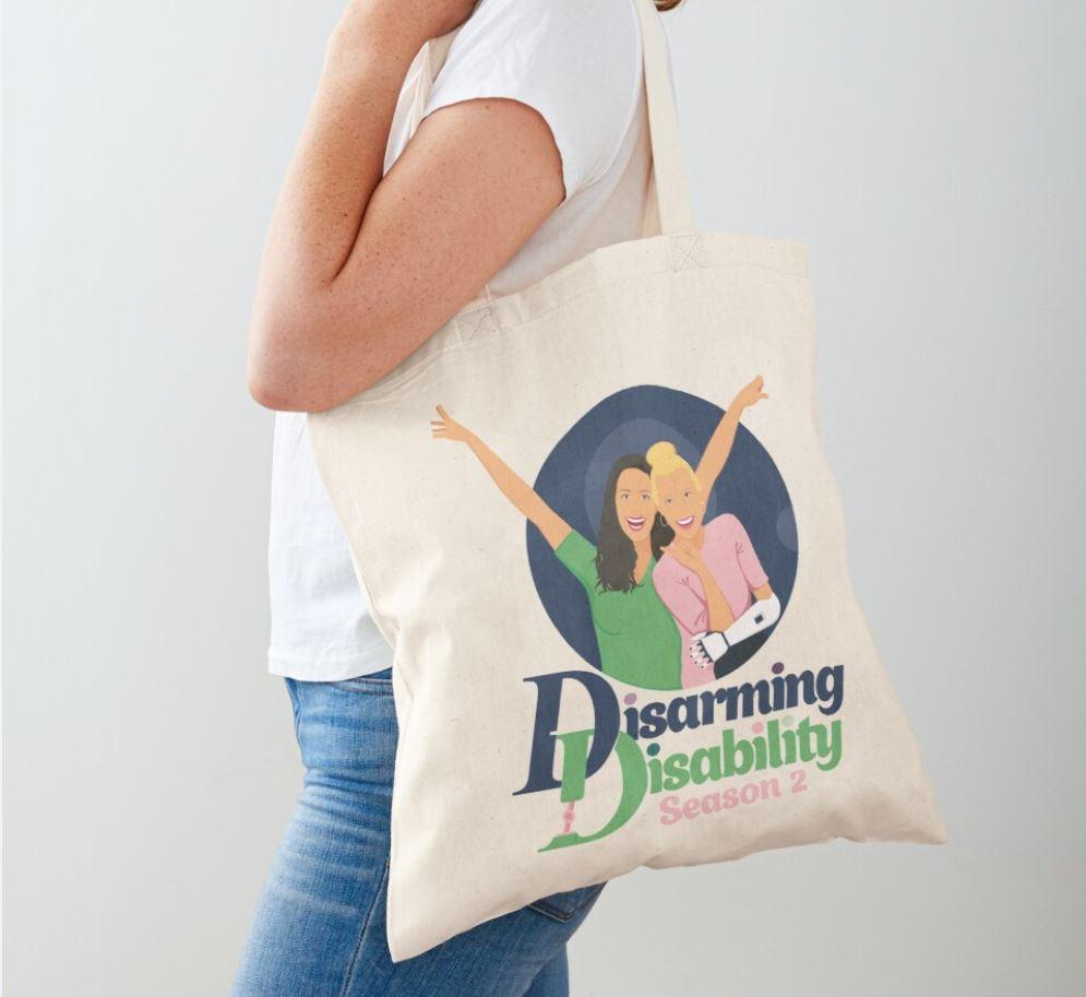 Disarming Disability Tote Bag