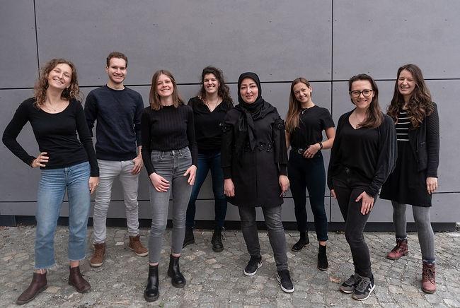 das team des social startups INN.MYBAG aus Passau