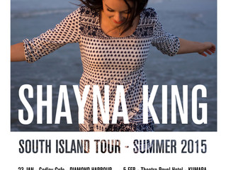 Shayna King announces South Island Summer Tour