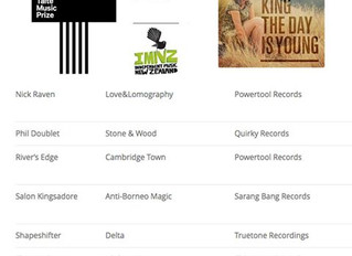 'The Day Is Young' nominated for 2014 Taite Music Prize