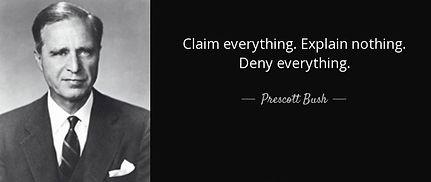 AZ Quote Prescott Bush - Claim Everythin