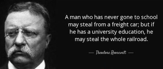 AZ quotes - Teddy Roosevelt _ Steal the