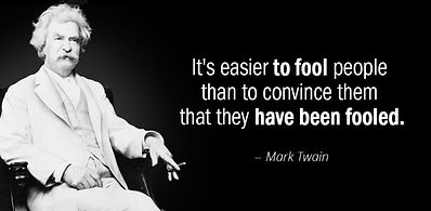 AZ Quotes Mark Twain Easier to Fool Peop