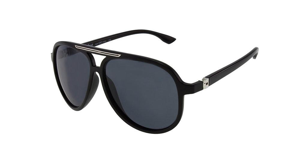Jase New York Rivers Sunglasses in Matte Black