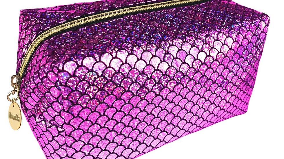 Mermaid Makeup Bag Pink
